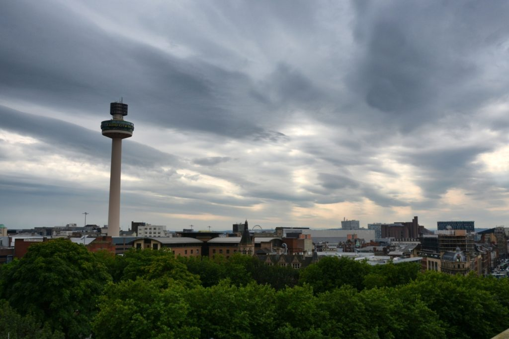 Radio City Tower: panorama na Liverpool