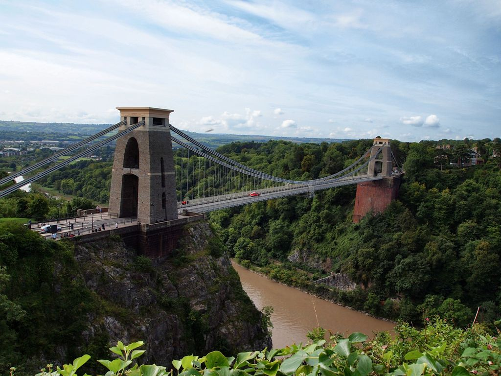 Clifton Suspension Bridge, wizytówka Bristolu.