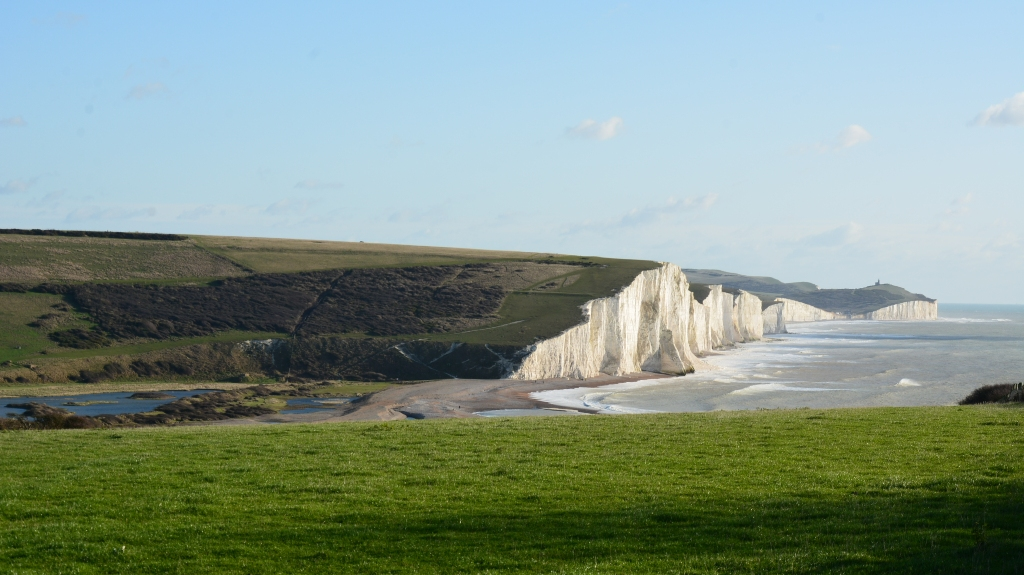 Seven Sisters z Sussex.